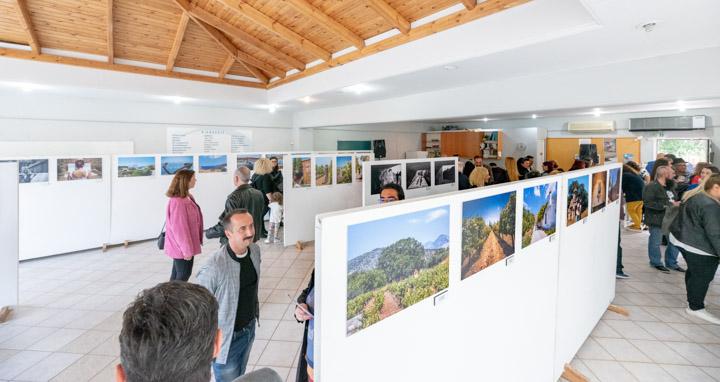 Εγκαίνια έκθεσης #My_Saronikos στο Πολιτιστικό Κέντρο Λαγονησίου